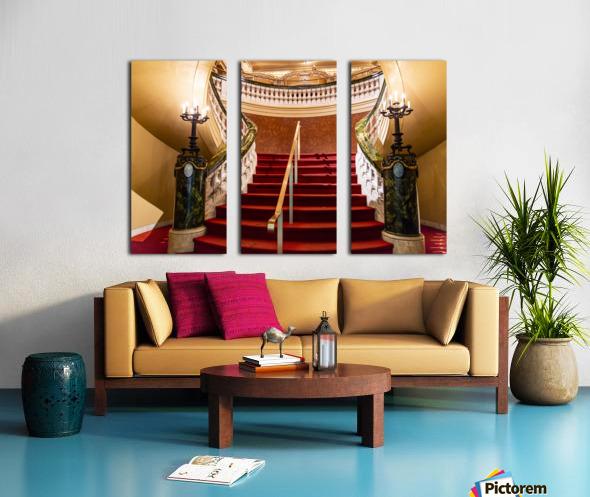Elegents  Split Canvas print