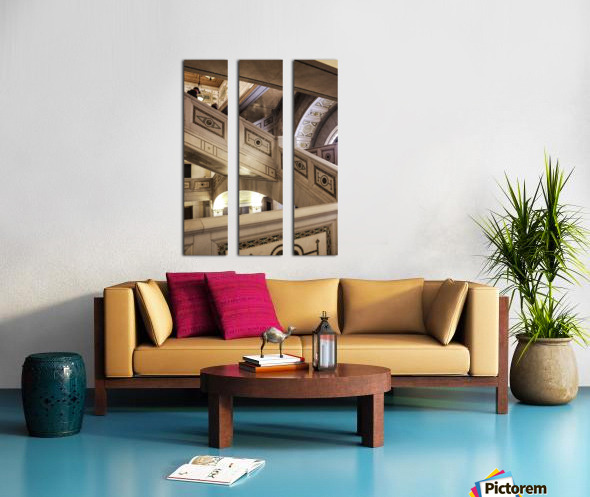 A Painting of Stairs Split Canvas print