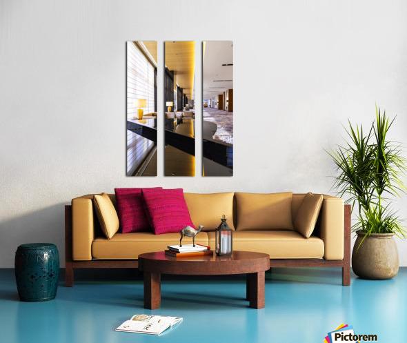 Hotel Hallways Split Canvas print