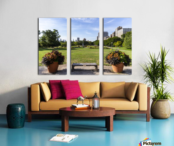 Look Through Lincoln Park Split Canvas print