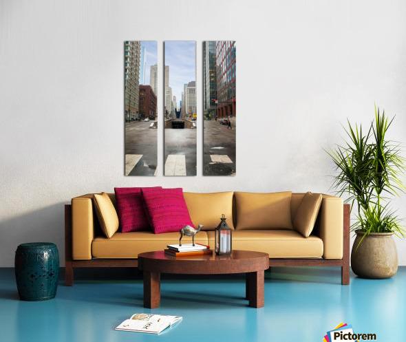 Underground Split Canvas print