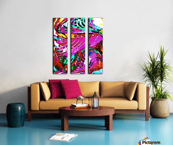 Lirium Split Canvas print