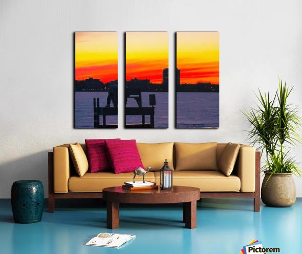 The Lifeguard  Split Canvas print