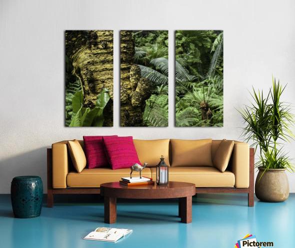 Trees Textures Split Canvas print