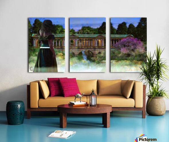 The Tranquil Span Split Canvas print