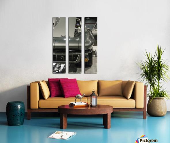 1965 Corvette Split Canvas print