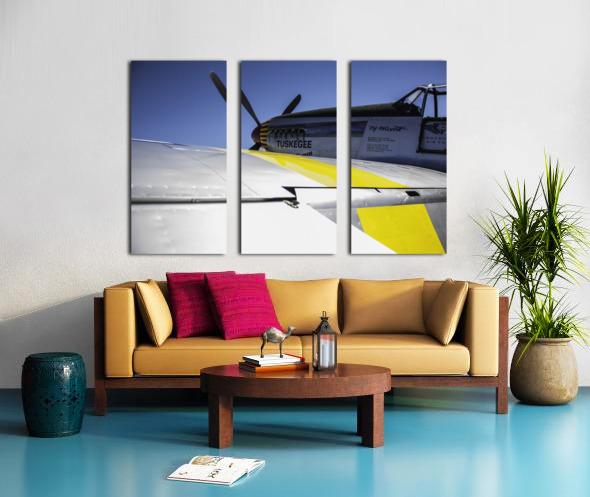 Tuskegee Airmen Split Canvas print