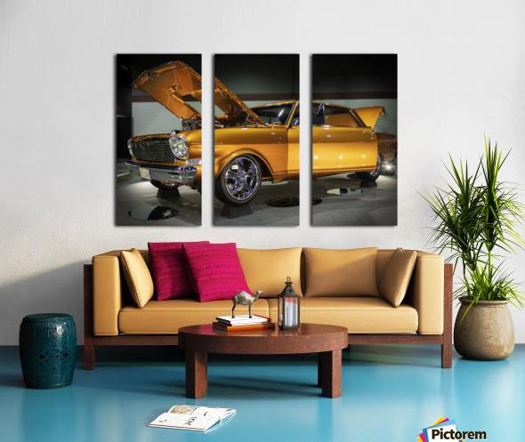 1966 Chevy II Nova Split Canvas print