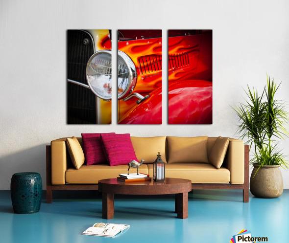 Light the Flames Split Canvas print