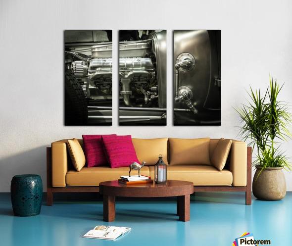 Modified Engine Split Canvas print