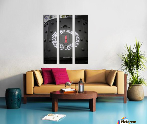 The first Division Split Canvas print