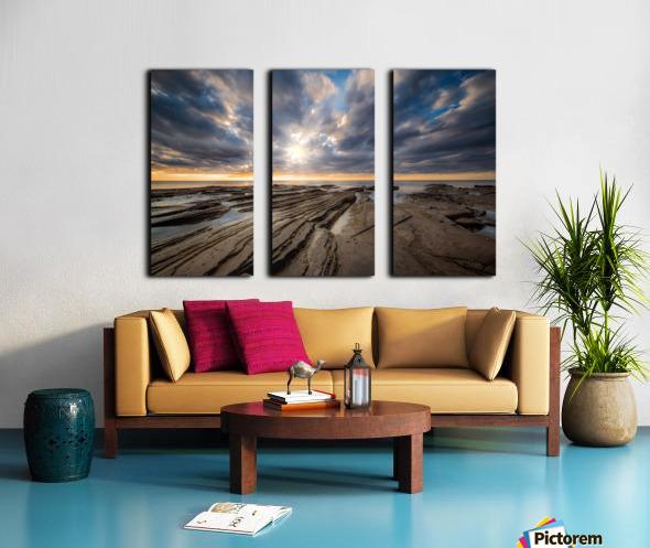 The Glory Split Canvas print