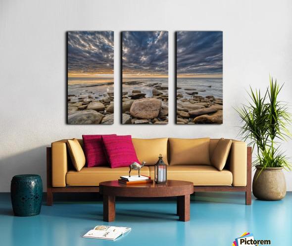 Higher Power Split Canvas print