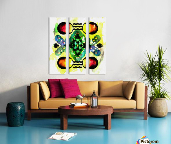 Hado Energy 3 Split Canvas print