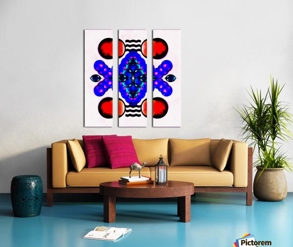 Hado Energy 14 Split Canvas print