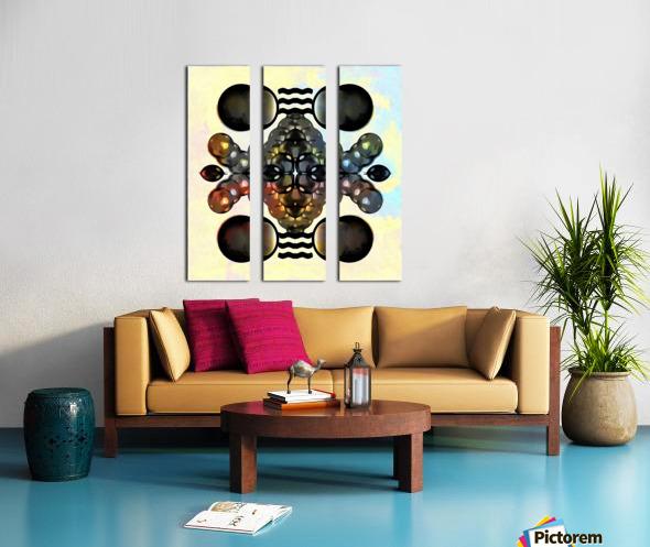 Hado Energy 12 Split Canvas print