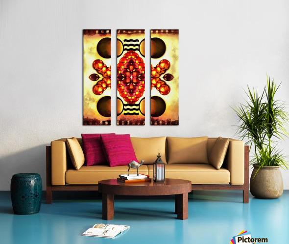 Hado Energy 9 Split Canvas print
