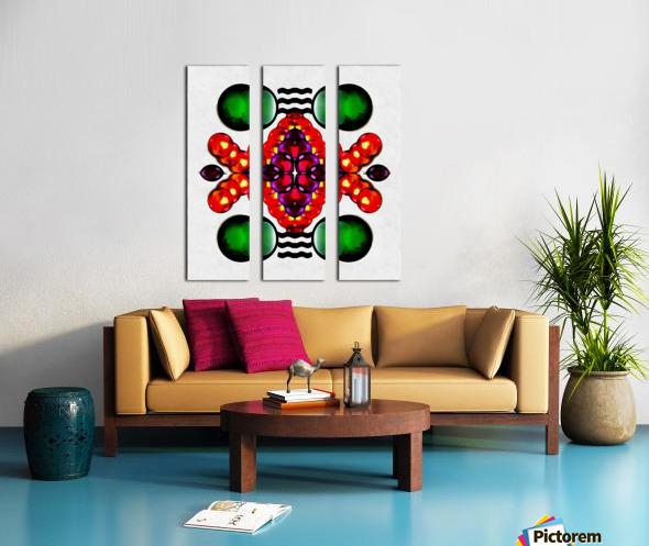 Hado Energy 2 Split Canvas print