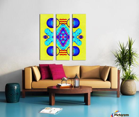 Hado Energy 8 Split Canvas print