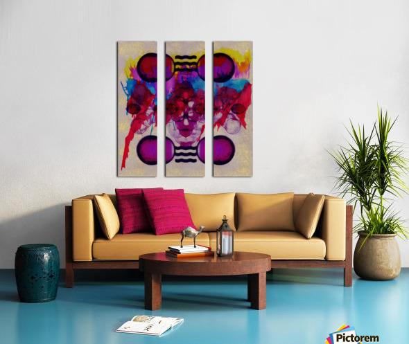 Hado Energy 19 Split Canvas print