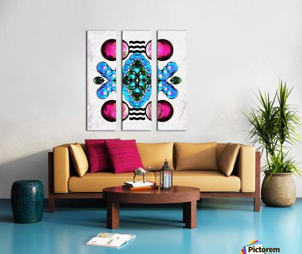 Hado Energy 10 Split Canvas print