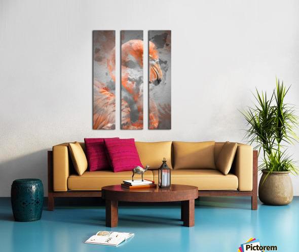 Flamant  Split Canvas print