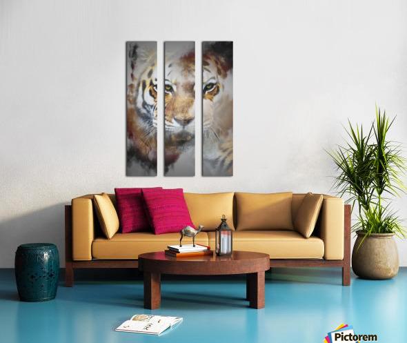 Tigre Split Canvas print