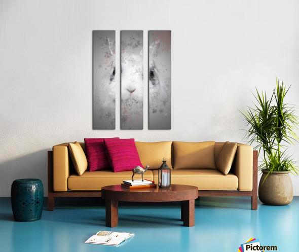 Lapin Split Canvas print