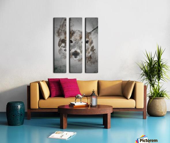 Cerf  Split Canvas print