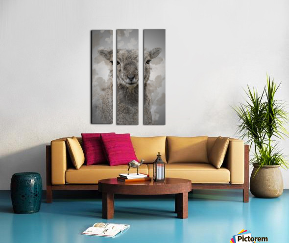 Mouflon Split Canvas print