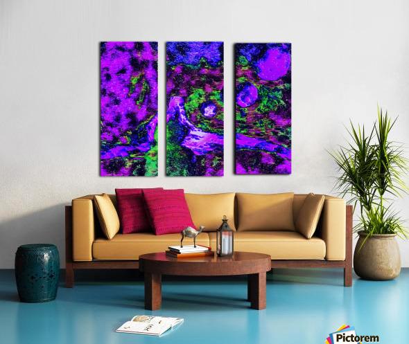 Mindfulness Split Canvas print