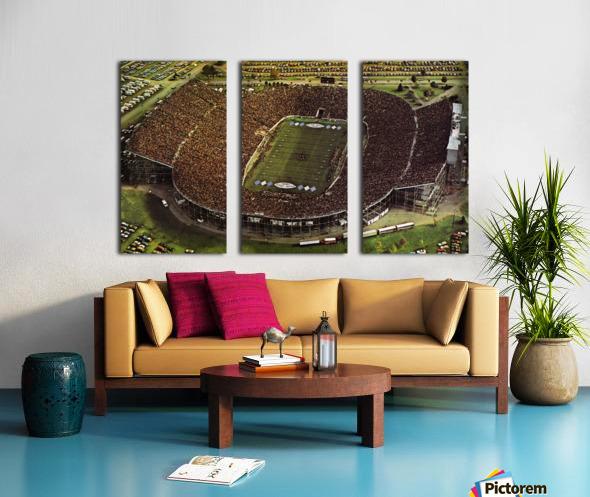 1981 Beaver Stadium Art Split Canvas print