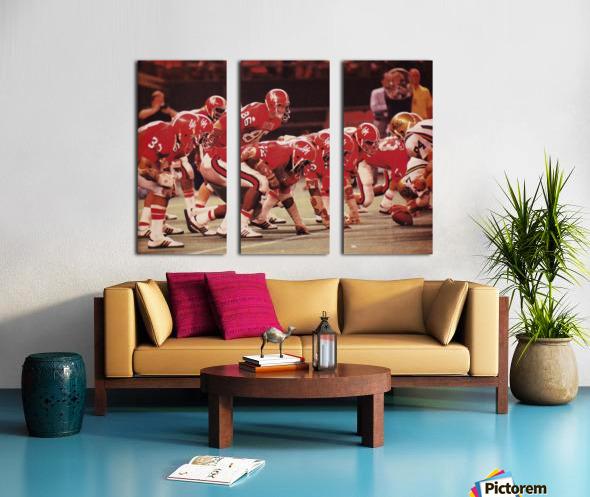 1977 UCLA vs. Houston Football Action Split Canvas print