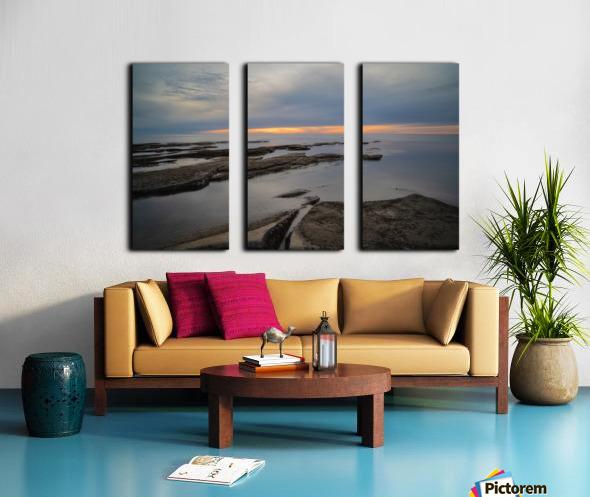 That Peaceful Place Split Canvas print
