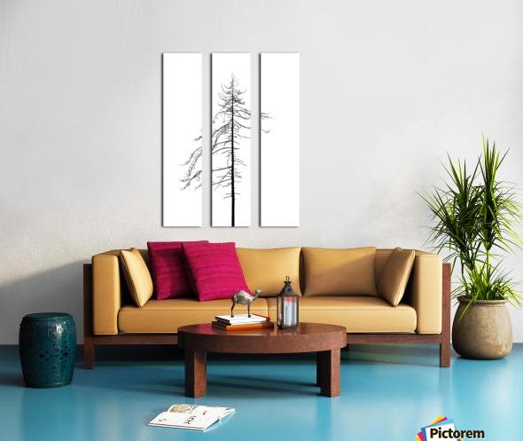 Tree silhouette Split Canvas print