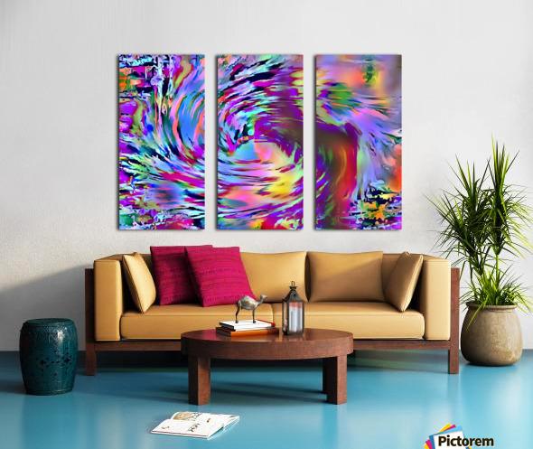 Love Comes Around Split Canvas print