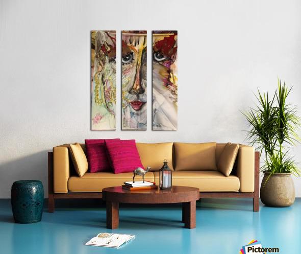 Higher Self Split Canvas print
