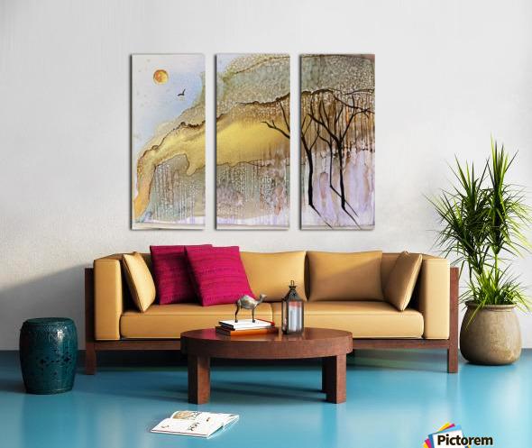 Golden Hour Split Canvas print