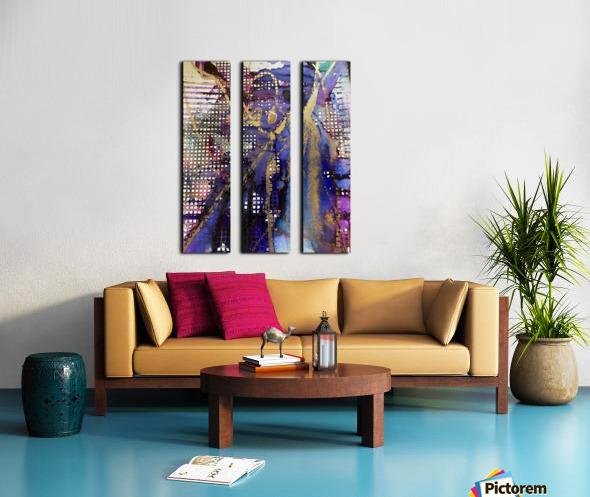 Breaking Free Split Canvas print
