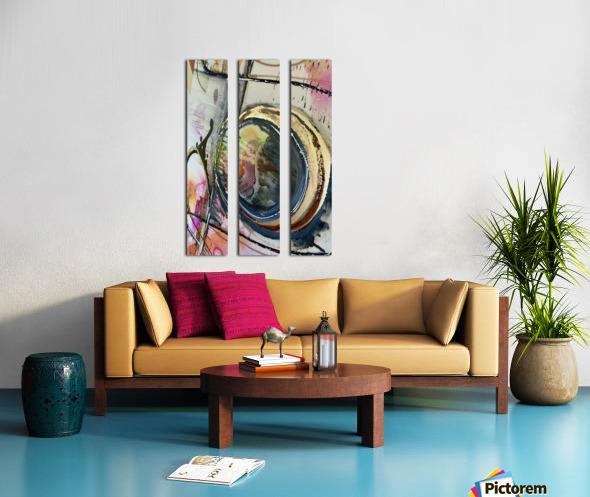 Circle Of Faith Split Canvas print