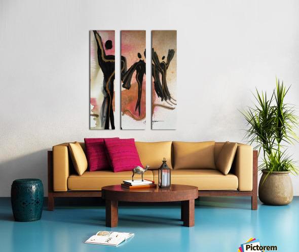 My People 5 Split Canvas print