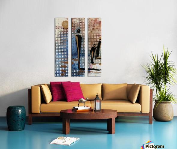 My People 4 Split Canvas print
