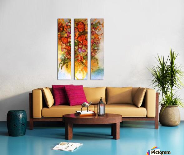 Luminosity Split Canvas print