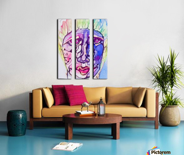 Larry Split Canvas print