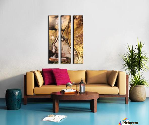Activation  Split Canvas print