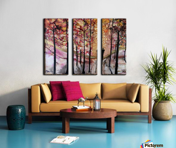 The Wanderer Split Canvas print