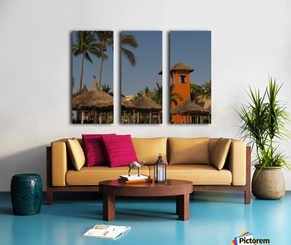 Mazatlan Resort Split Canvas print