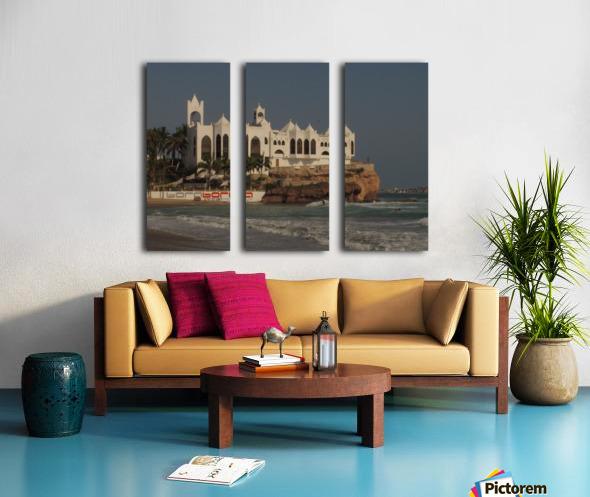 White Castle Split Canvas print