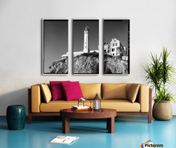 Alcatraz Lighthouse, California Split Canvas print