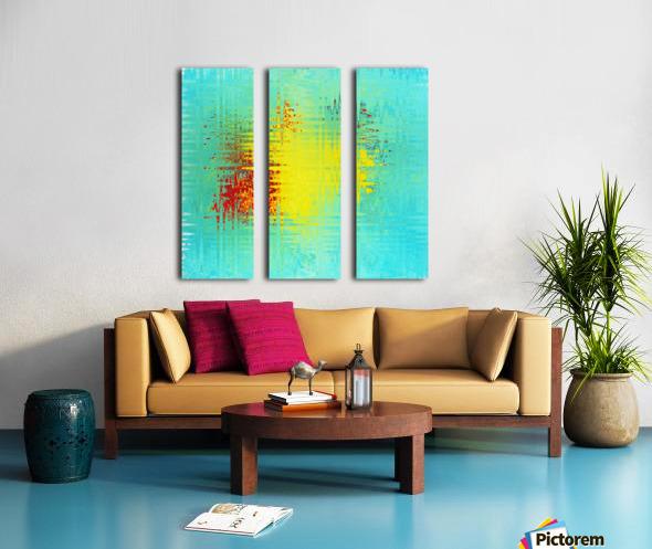 art Ukraine 2014 Split Canvas print